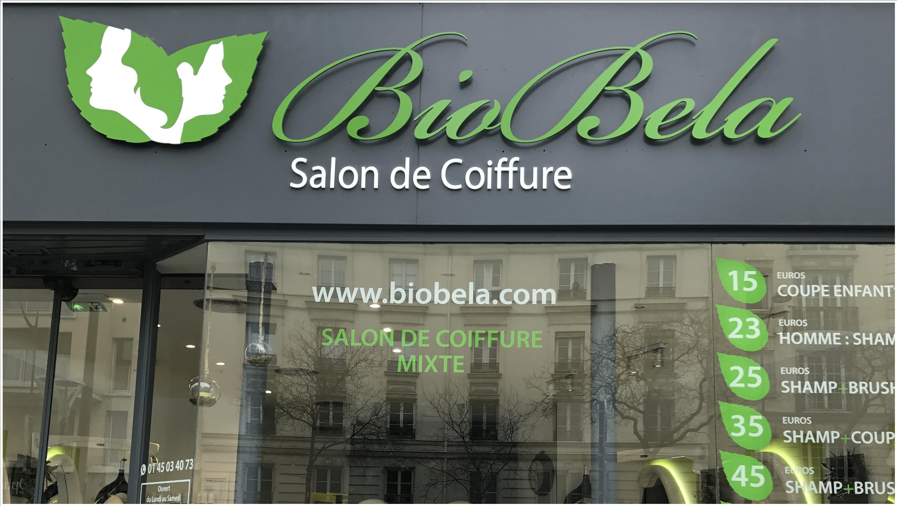 Biobela la r f rence en coloration v g tale coiffeur for Salon bio paris